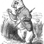 The White Rabbit John Tenniel