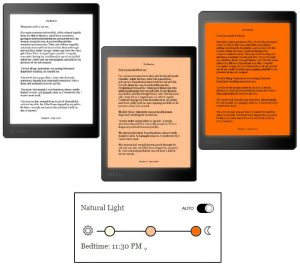 Kobo Front Light System Illustration