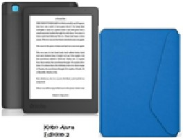Kobo Current Colours. Aura Edition 2 Sleep Cover.