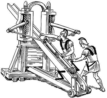 Catapults in ambush